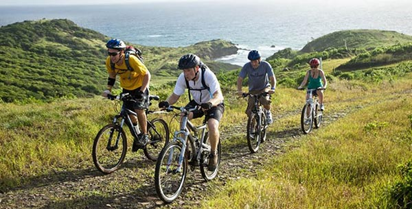 Mountain biking at The BodyHoliday