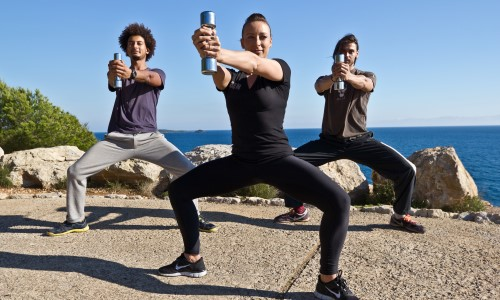 Strength Training on a 38° North Ibiza Retreat