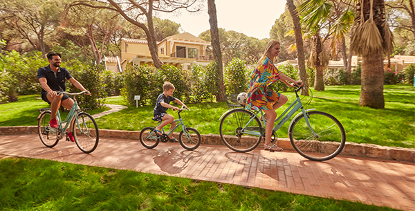 Forte Village Family bike tour