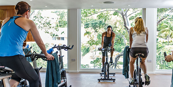 TheBodyHoliday treehouse gym session