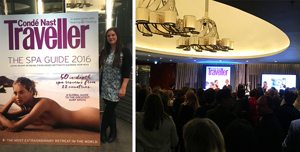 Conde Nast Traveller Spa Awards 2016