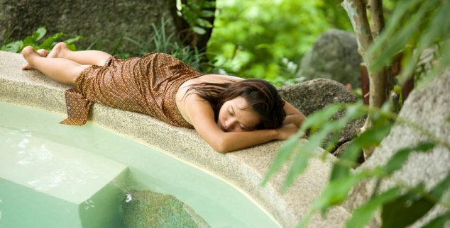 Relaxation area at Kamalaya