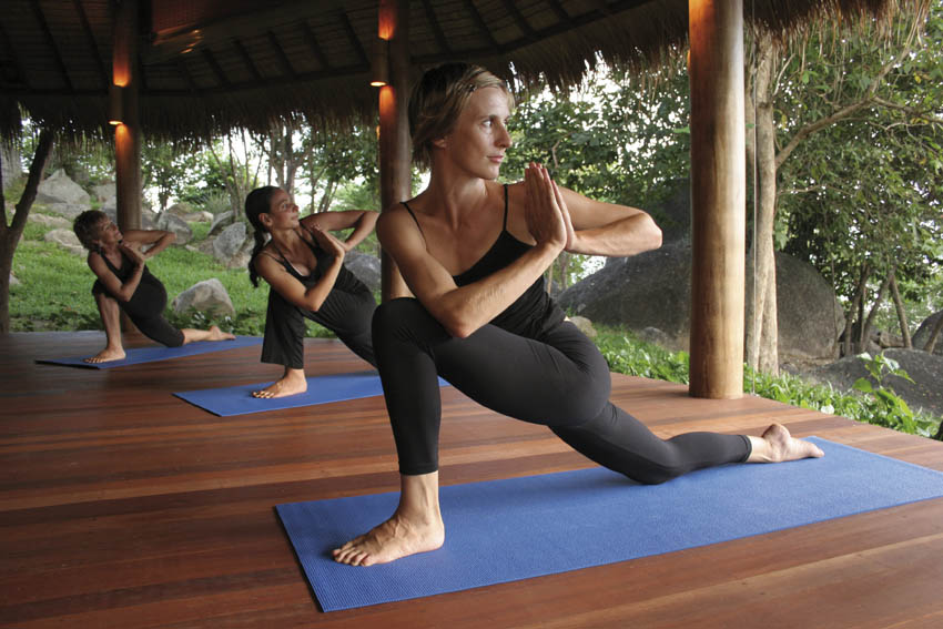 Yoga at Kamalaya