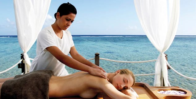 Massage at Shanti Maurice