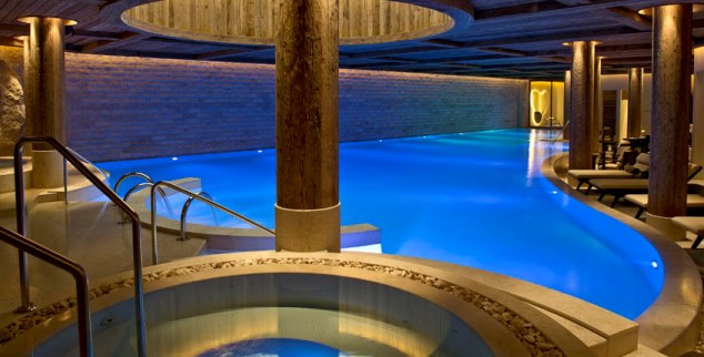 Spa at The Alpina Gstaad