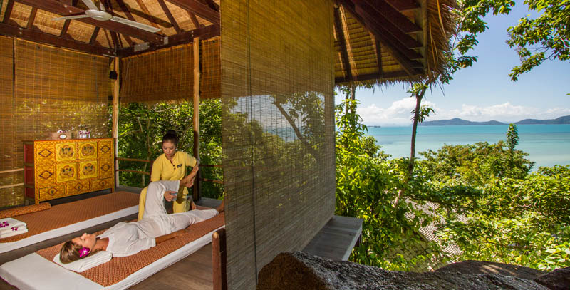 kamalaya treatment room