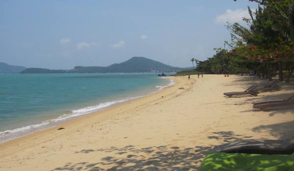 One of the local beaches at Absolute Sanctuary, Koh Samui, Thailand