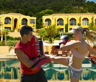 Kickboxing at Absolute Sanctuary