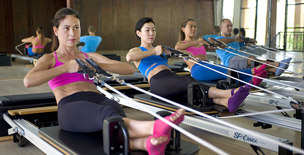 Pilates Thailand Fitness Toning Weight-loss