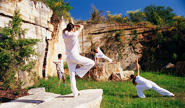 Yoga at Adler Thermae