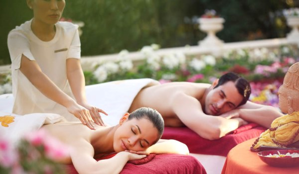 ananda couples spa treatment