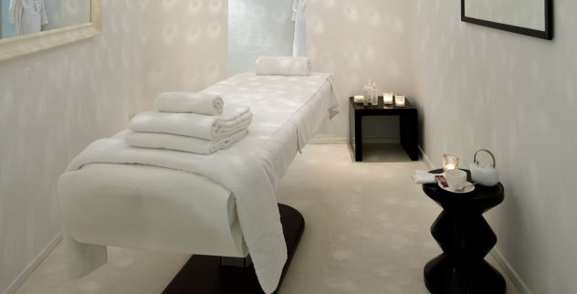 Treatment room at Argentario Golf SPa Resort in Italy