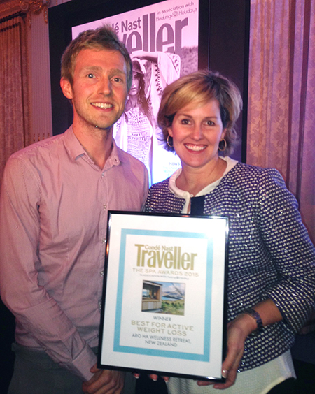 Aro Ha Conde Nast Traveller Award