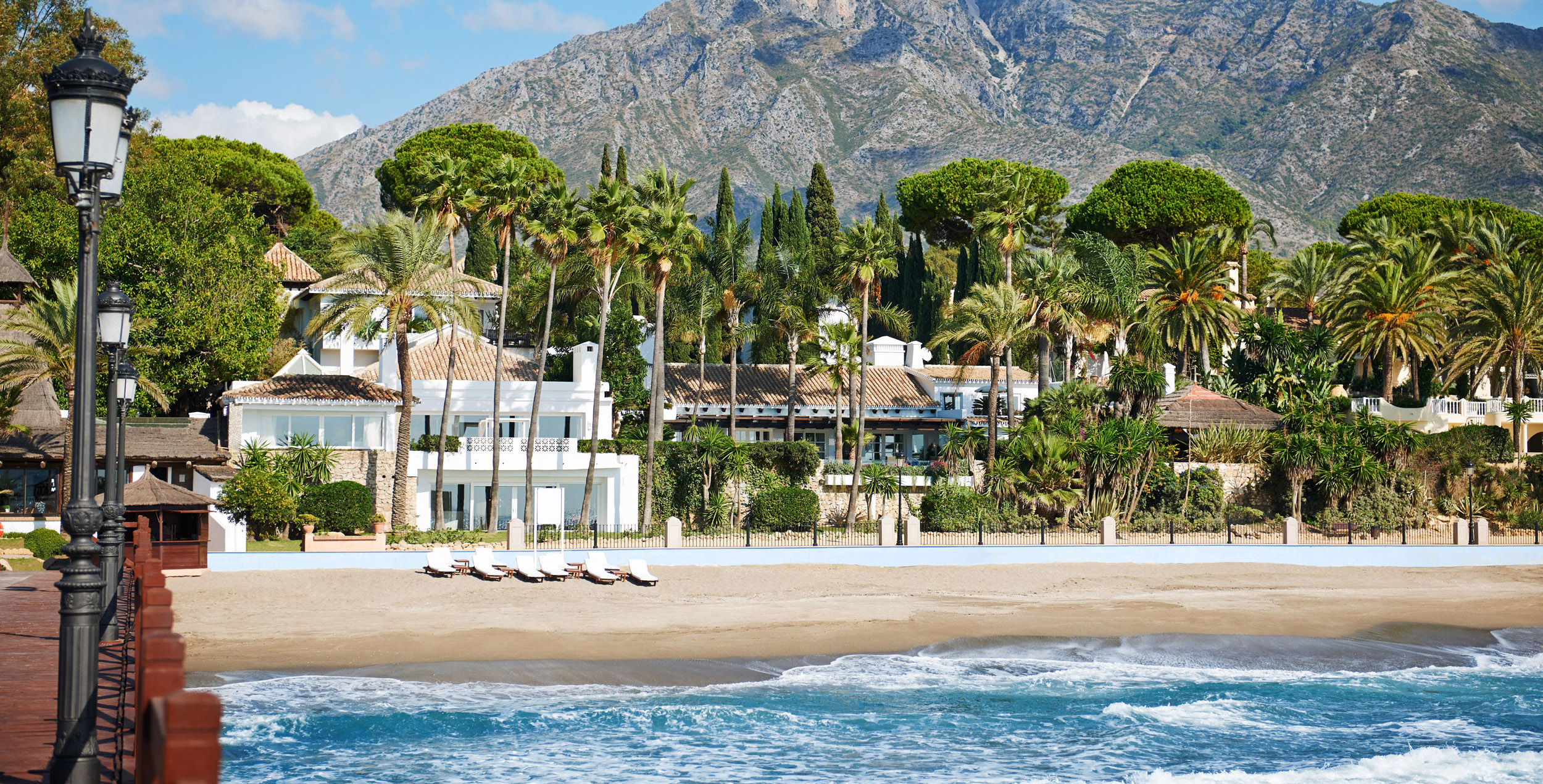 Marbella Club Resort by the sea