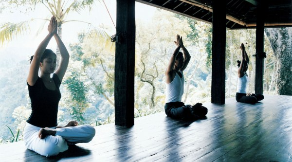 Yoga at the Como Shambhala Estate in Bali
