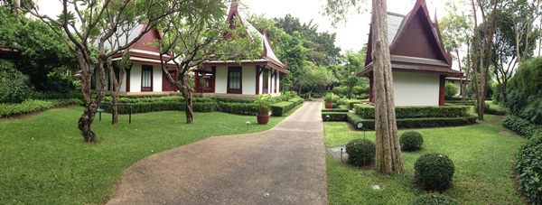 The accommodation at Chiva Som, Thailand