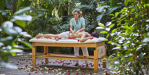 outdoor spa treatment Forte Village