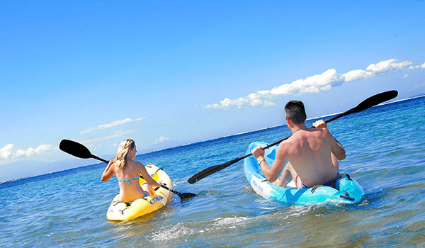 Kayaking at Grand Mirage Bali