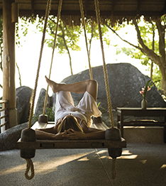 Kamalaya relaxing