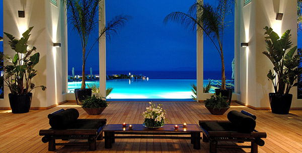 Kempinski Barbaros Bay, Bodrum, Turkey, private spa zone