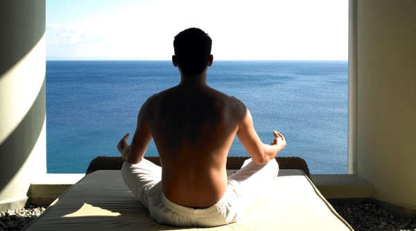 Kempinski Barbaros Bay, Bodrum, Turkey - outdoor meditation
