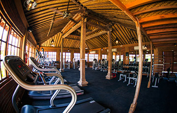 Fitness Center at Komune Resort