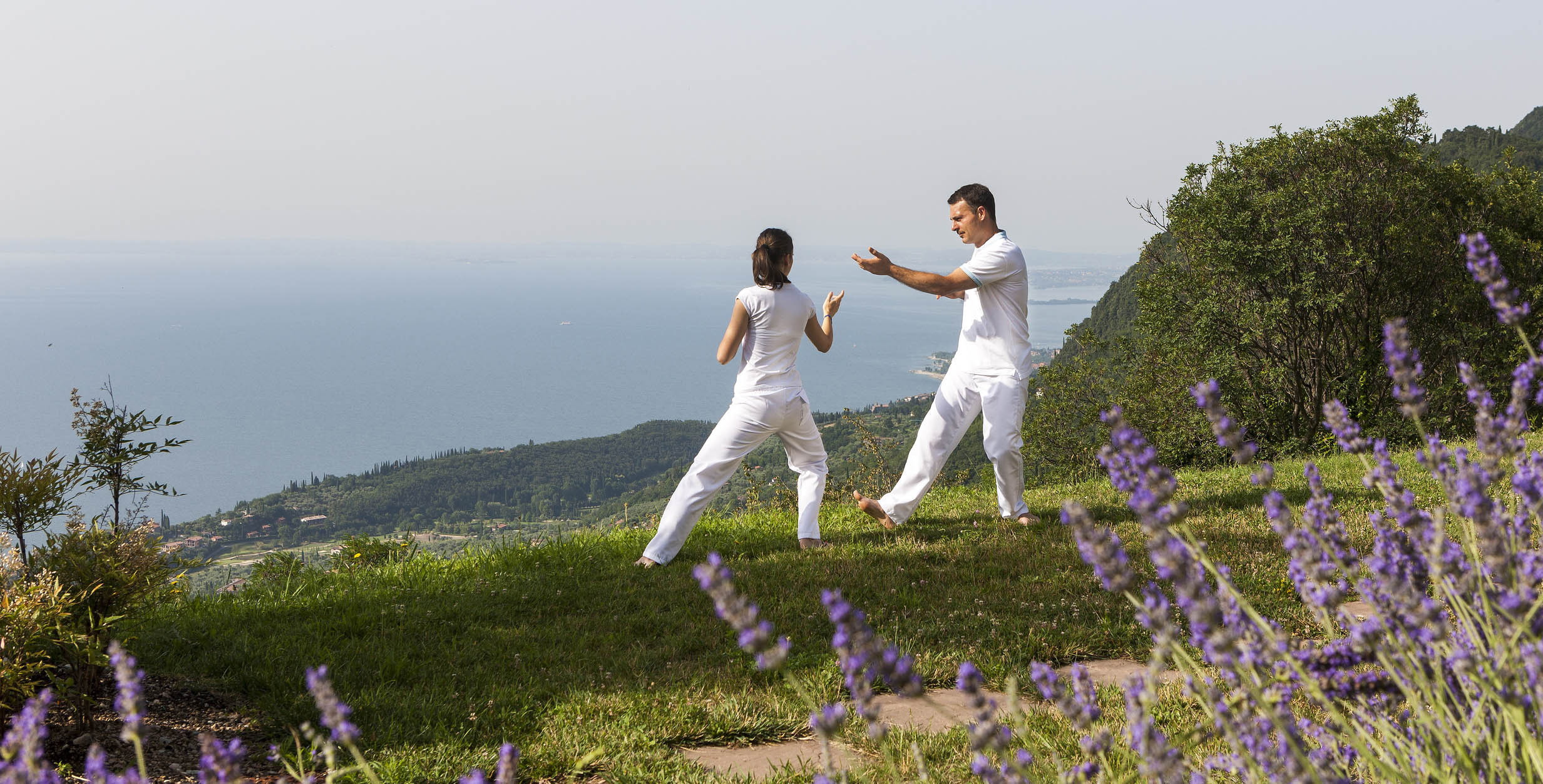 Tai-Chi in Italy relax