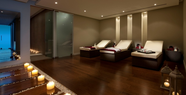 Longevity Wellness Resort, Portugal, spa tea lounge