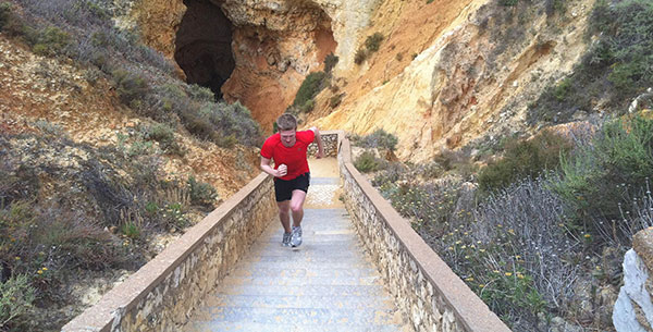algarve step running