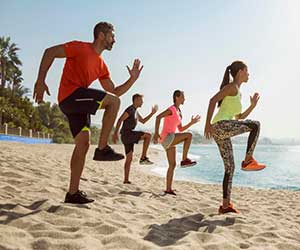 marbella beach fitness
