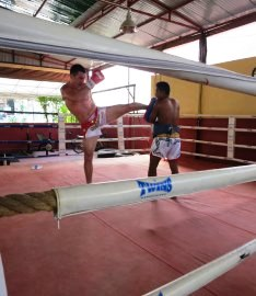 Kickboxing at Phuket Cleanse