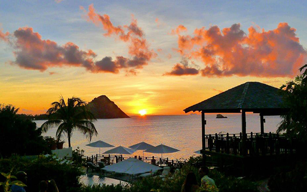 Sunset St Lucia The BodyHoliday