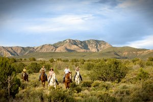Horseback riding at Red Mountain Resort