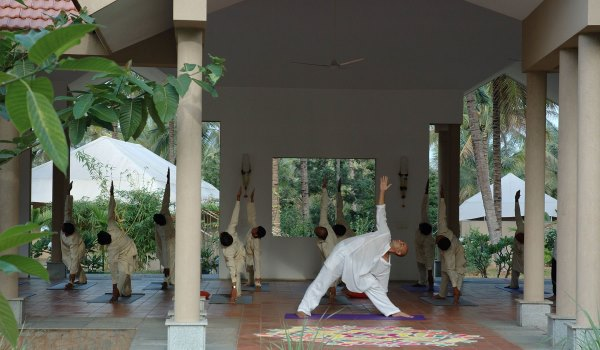 Yoga at Shreyas