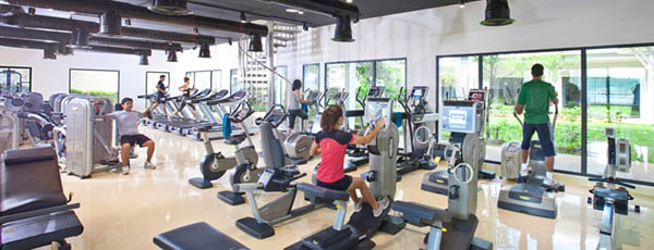Cardio room at Thanyapura