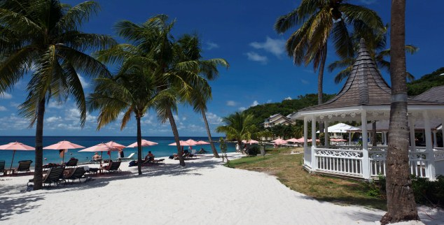 The BodyHoliday beach, St Lucia