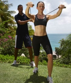 Strength training at The BodyHoliday