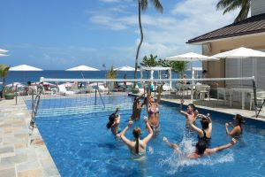 Water volleyball at The BodyHoliday