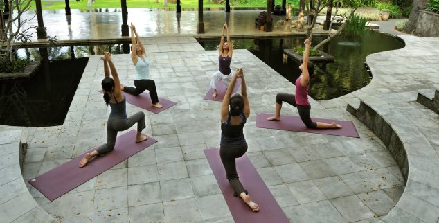 The Farm yoga class, The Philippines