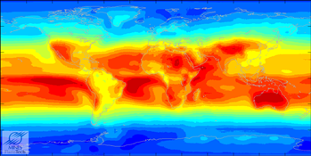 World UV Map