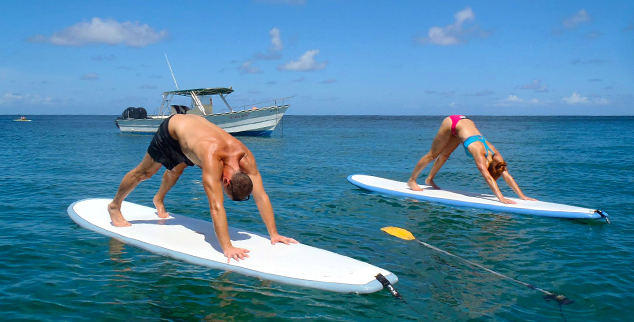 sup yoga on the body holiday