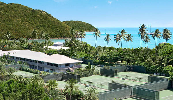 Tennis at Carlisle Bay