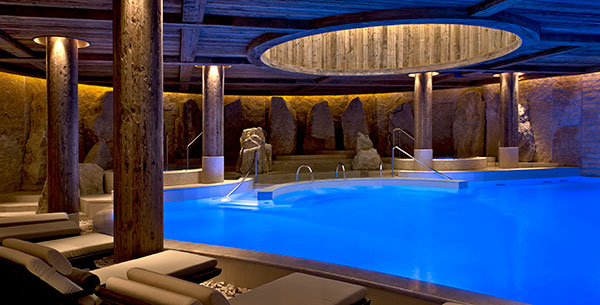 The Alpina Gstaad spa