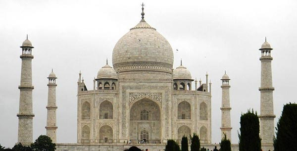 Visit the Taj Mahal in India
