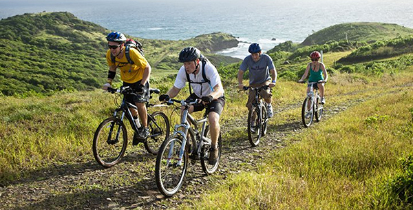 Bike tour across St. Lucia at The BodyHoliday
