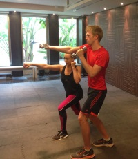 Personal training at 38 Degrees North
