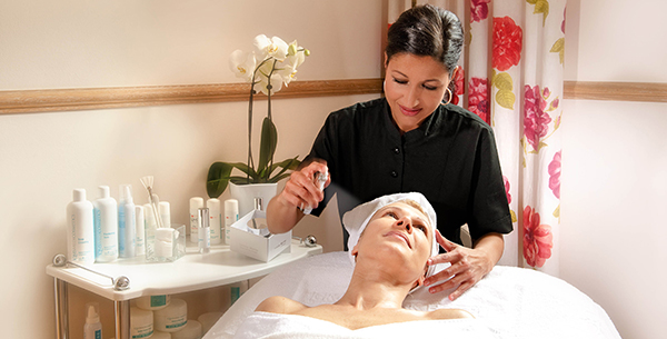 Anti-ageing facial at La Reserve