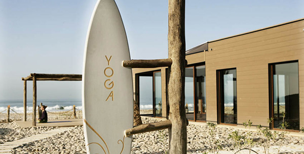 outdoor yoga surf beach