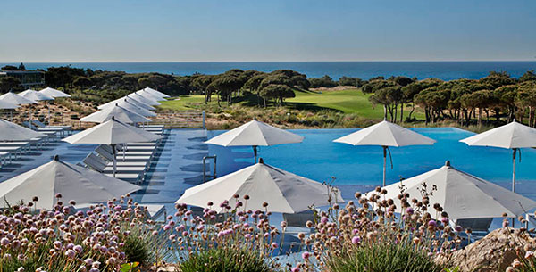Pool and golf at The Oitavos