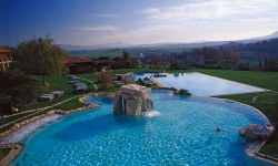 Adler Thermae thermal pools, Tuscany